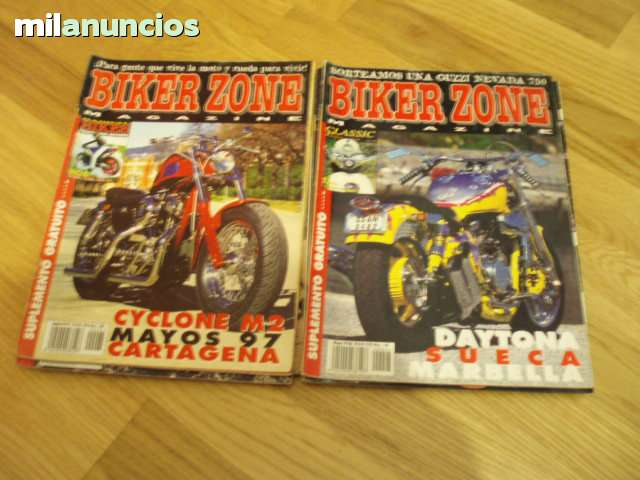 Coleccion Revistas Biker Zone
