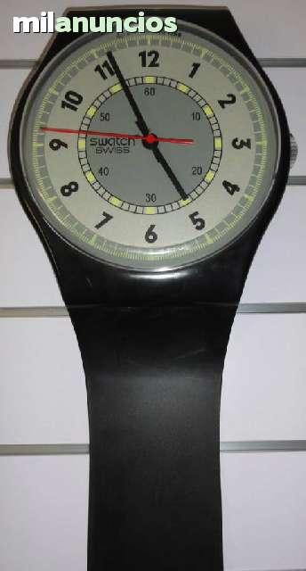 Reloj Swiss Color Swatch Negro Reloj eDIY9bWEH2