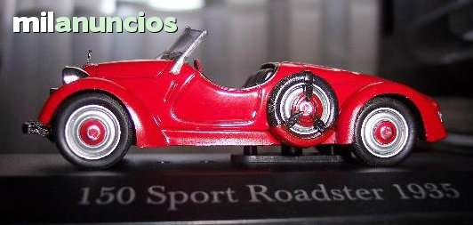 Mercedes 150 Sport Roadster 1935 Escala