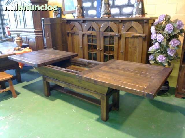 MIL ANUNCIOS.COM - Mesas madera grandes rustica Segunda mano y ...