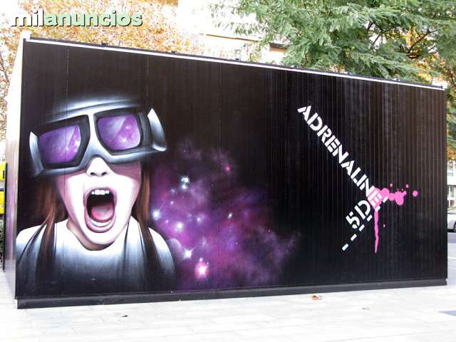 PINTOR GRAFFITI MURAL - GASICPAINTER. COM - foto 1