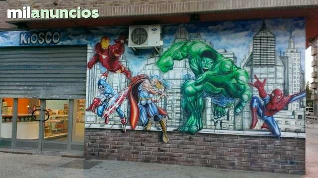 GRAFFITI Y MURALES EN VALENCIA - foto 5