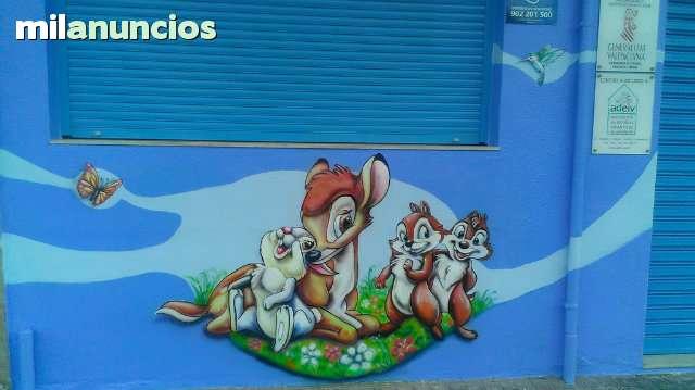 GRAFFITI Y MURALES EN VALENCIA - foto 3