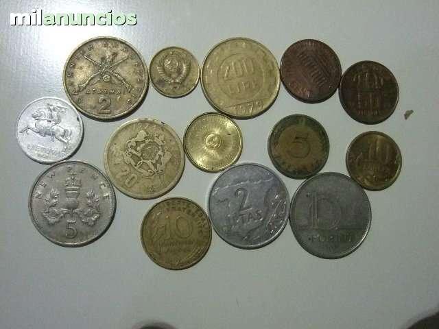 20 Monedas De 6 Paises Distintos