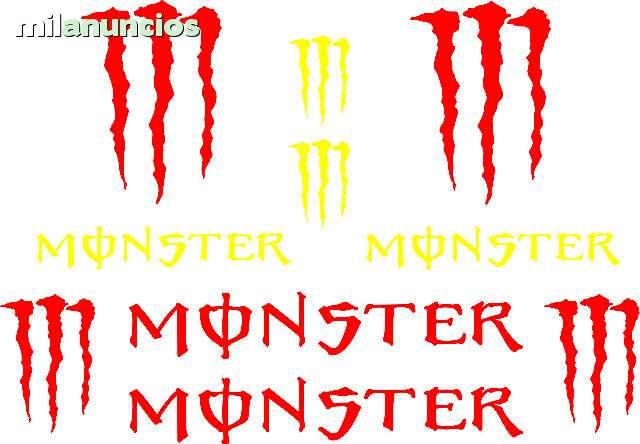 Adhesivos Monster