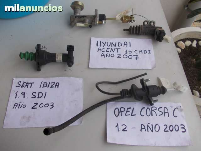 BOMBAS DE EMBRAGUES.  VARIAS - foto 1