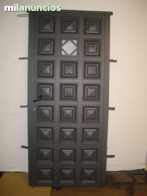 Puerta De Hierro Para Exterior Nueva
