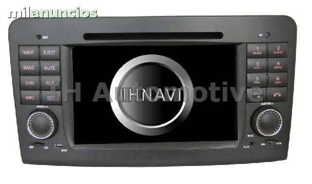 NAVEGADOR GPS DVD MERCEDES ML W164 GL - foto 1