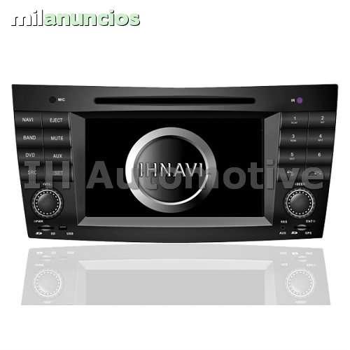 NAVEGADOR RADIO MERCEDES BENZ E W211 CLS - foto 1
