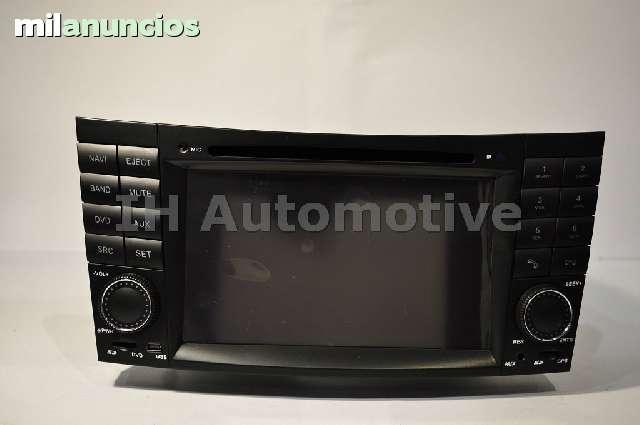 NAVEGADOR RADIO MERCEDES BENZ E W211 CLS - foto 2