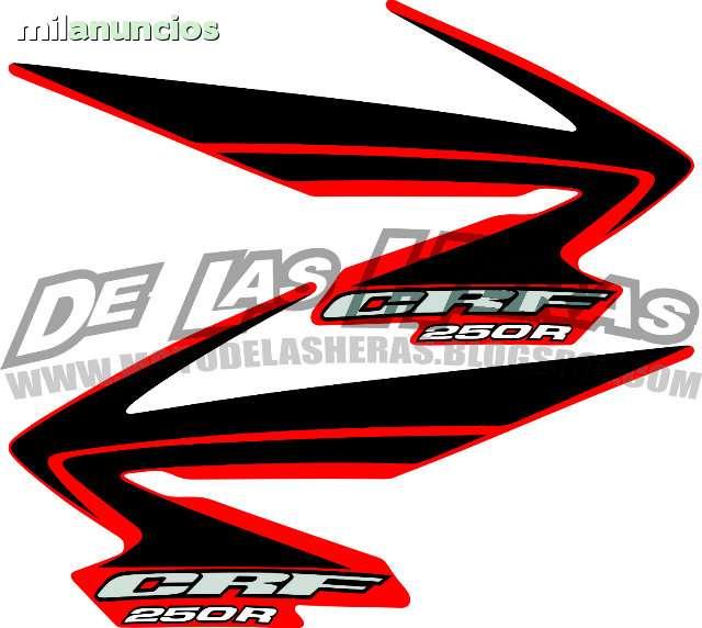 ADHESIVOS HONDA CRF AÑO 2008 - foto 5