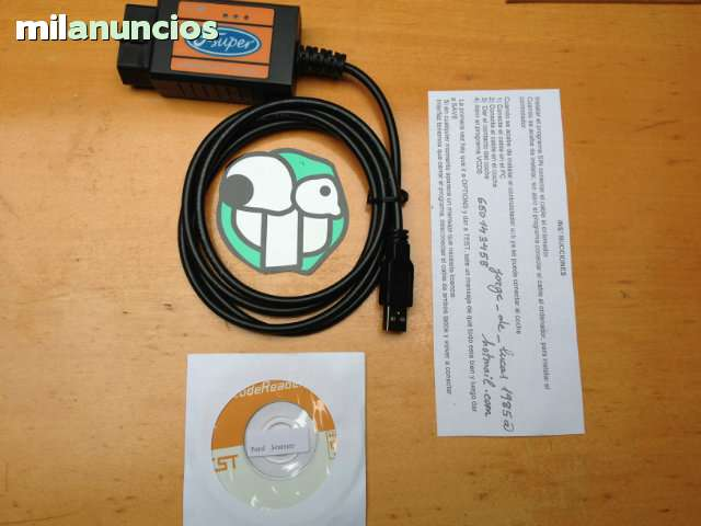 CABLE DE DIAGNOSIS FORD SCANNER - foto 1
