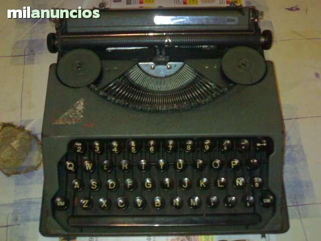 Maquina Escribir Hermes Boby Antigua