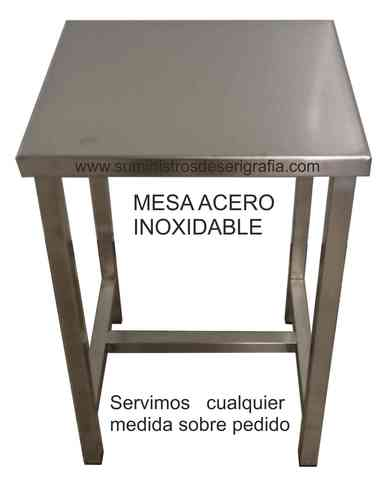 MESA ACERO INOXIDABLE - foto 1