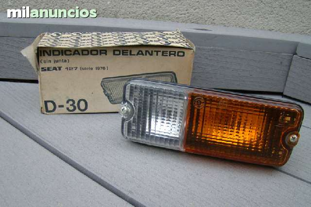 PILOTO DELANTERO IZQUIERDO SEAT 127 - foto 1