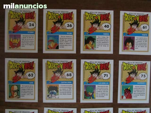 CARTAS DRAGON BALL - foto 4