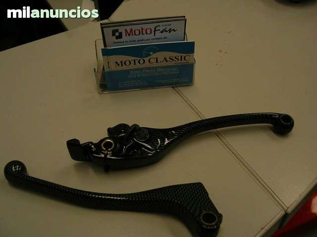 JUEGO MANETAS EN CARBONO HONDA CBR-600 F - foto 2