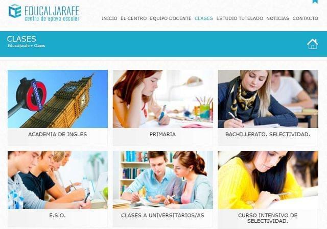 CLASES DE INGLÉS, LENGUA ALJARAFE