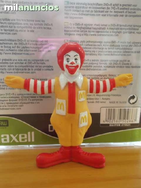 Figura Pvc Goma Ronald Mcdonald