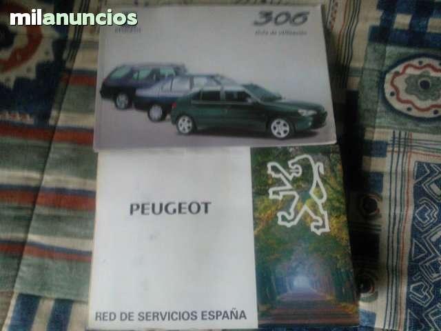 MANUAL DE INSTRUCCIONES DE PEUGEOT 306 - foto 1