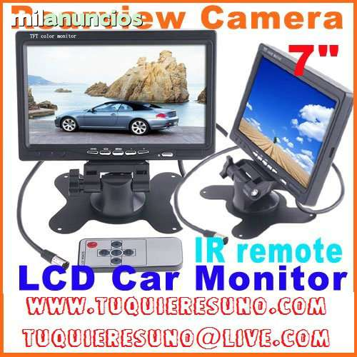7  TFT LCD A COLOR DE 2 ENTRADA DE VÍDEO - foto 1