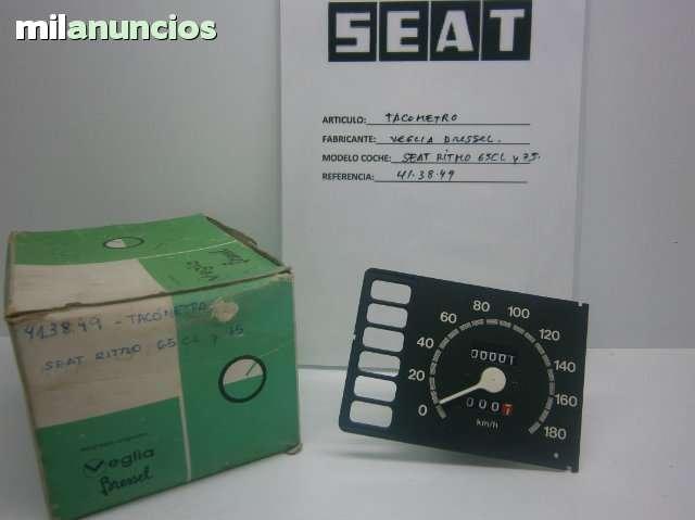CUENTAREVOLUCIONES SEAT RITMO LUJO - foto 1