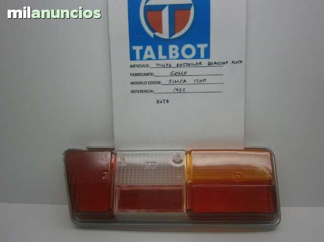 TULIPA POSTERIOR SIMCA 1200 - foto 1