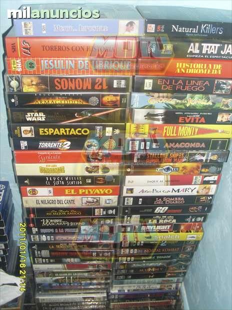 LOTE + DE 50 VHS CINTAS DE VIDEO - foto 1