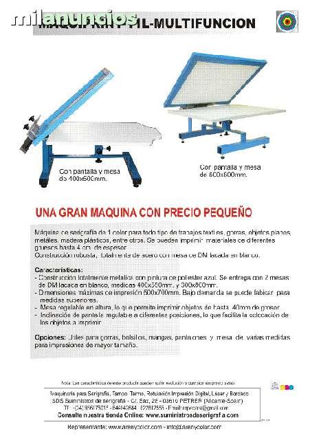 MAQUINA DE SERIGRAFIA - foto 2