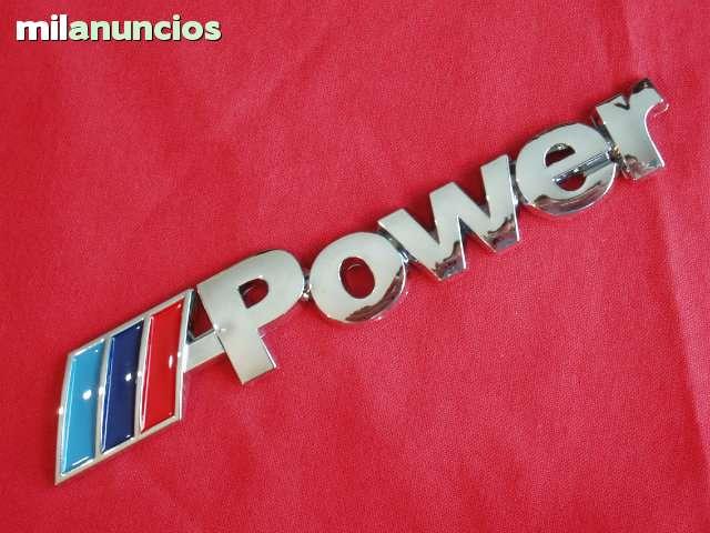 LETRERO M POWER BMW M3 M5 M1 E36 E46 E90 - foto 2