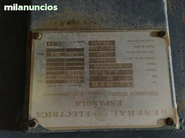 TRANSFORMADOR DE 30 KVEAS (KWA) TRIFASIC - foto 2