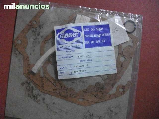 JUEGO DE JUNTAS DE CAMBIOS RENAULT - foto 1