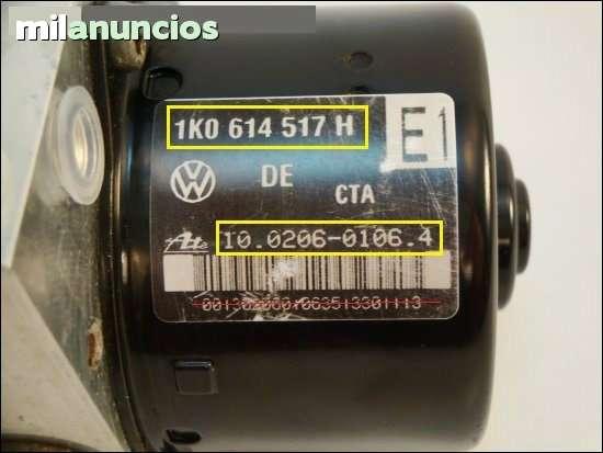 BOMBA ABS VW GOLF 5 1K0614517H 1K0907379 - foto 2