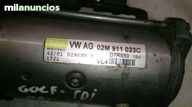 MOTOR DE ARRANQUE  02M911023C - foto 5