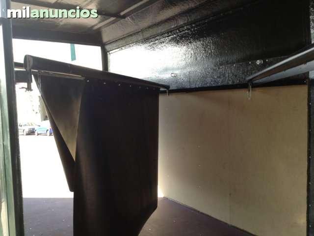 REMOLQUE 3 CABALLOS - TECHO DURO (FIBRA) - foto 5