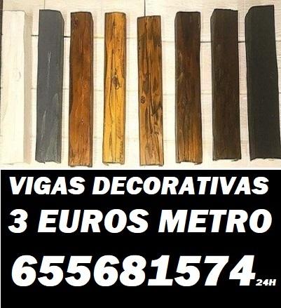 Mil anuncios com vigas imitacion madera desde 3 euros m - Vigas poliuretano baratas ...