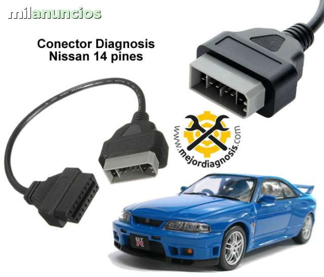 CABLE NISSAN 14 PINES - foto 1
