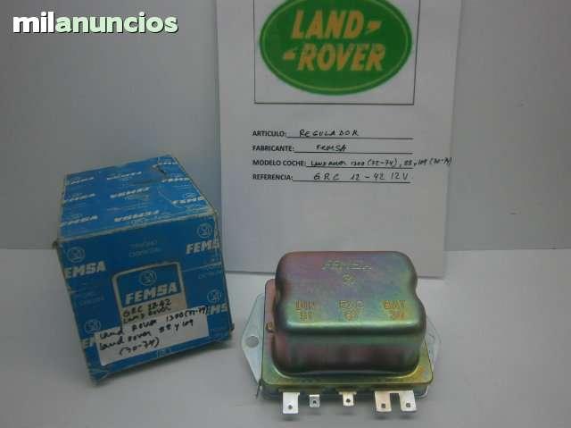 REGULADOR LAND ROVER GRC 12-42 12V - foto 1