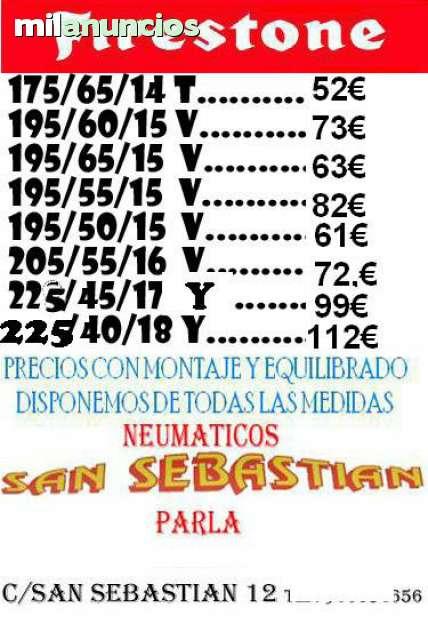 NEUMATICOS NUEVOS Y SEMINUEVOS PARLA - foto 5