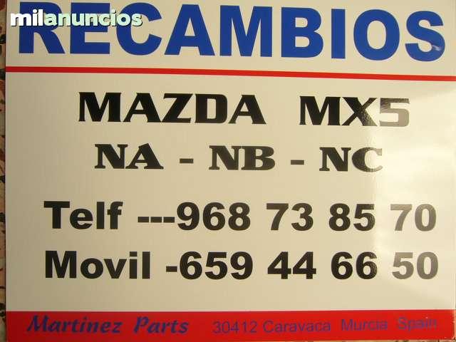 ALETAS DELANTERAS MAZDA MX5 NC - foto 2