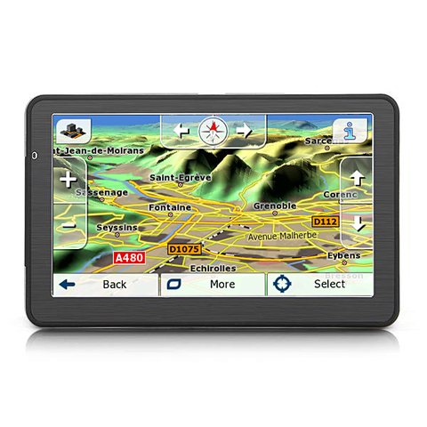 GPS 5 PULGADAS,  IGO PRIMO MODULO CAMION - foto 2