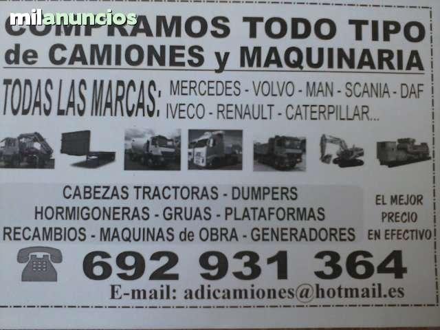 COMPRAMOS CAMIONES MERCEDES VOLVO MAN - foto 1
