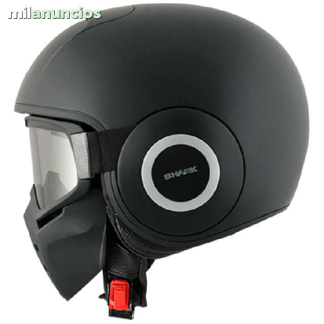 CASCO CUSTOM SHARK RAW - foto 2