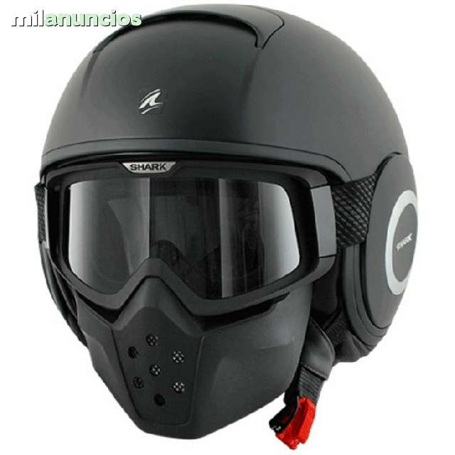 CASCO CUSTOM SHARK RAW - foto 3