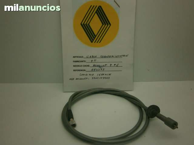 RENAULT 4 F6 CABLE CUENTAKILOMETROS - foto 1