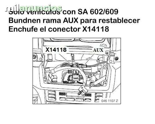 SALIDA AUX PARA BMW E46,  X5,  E39,  E38 - foto 6