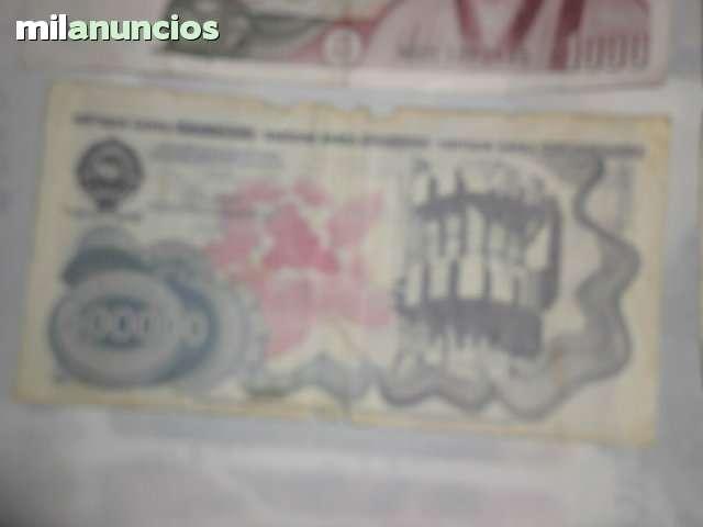 Colecion De Billetes