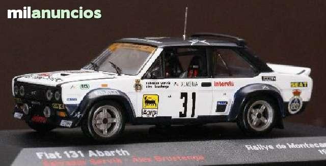 Fiat 131 Abarth Rallye De Montecarlo De
