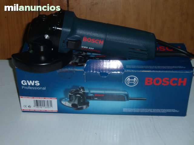 Radial Bosch 115 Mm Azul