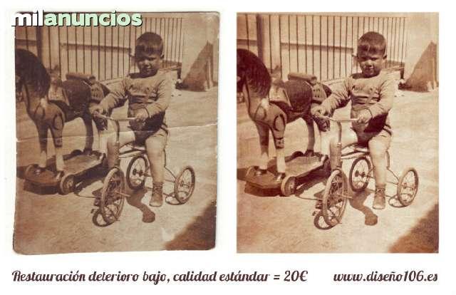 RESTAURACIÓN FOTOGRAFÍA ANTIGUA - foto 3